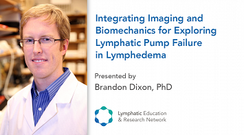 Integrating Imaging and Biomechanics for Exploring Lymphatic Pump Failure in Lymphedema thumbnail Photo