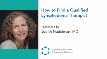 How to Find a Qualified Lymphedema Therapist thumbnail Photo