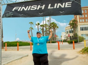 Lymph Walk Banner Photo