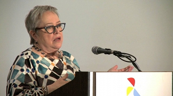 Kathy Bates Tells Scientists What It's Like to Live with Lymphedema - LE&RN thumbnail Photo