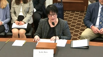Watch Kathy Bates Testify on Capitol Hill  - April 9 2019 - LE&RN thumbnail Photo