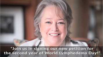 Celebrate the 2nd annual World Lymphedema Day - March 6! thumbnail Photo