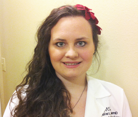 Amanda Stolarz, 2015 LE&RN Travel Award Recipient
