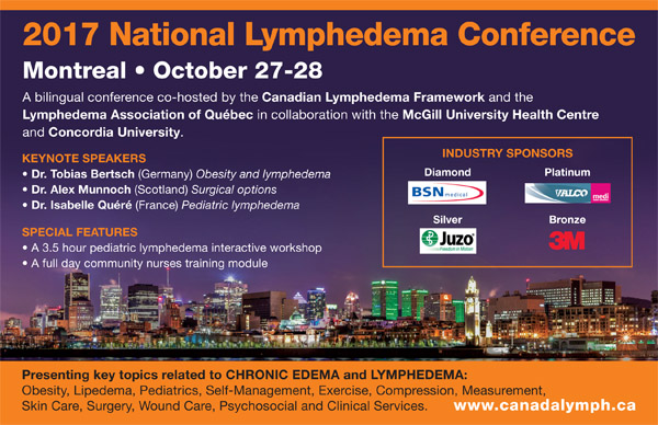 2017 National Lymphedema Conference in Montreal