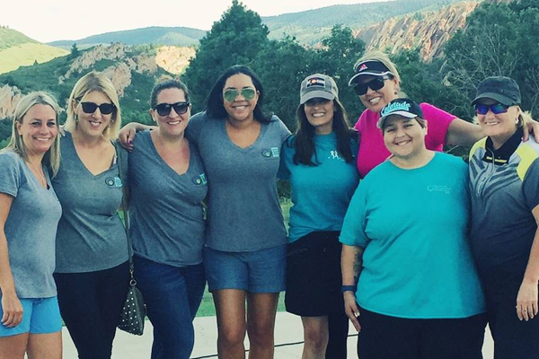 Colorado chapter raises awareness lymphatic education for Chair network golf