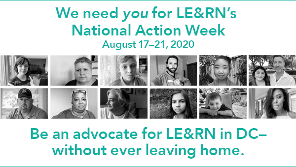 National Action Week, August 17-21, 2020