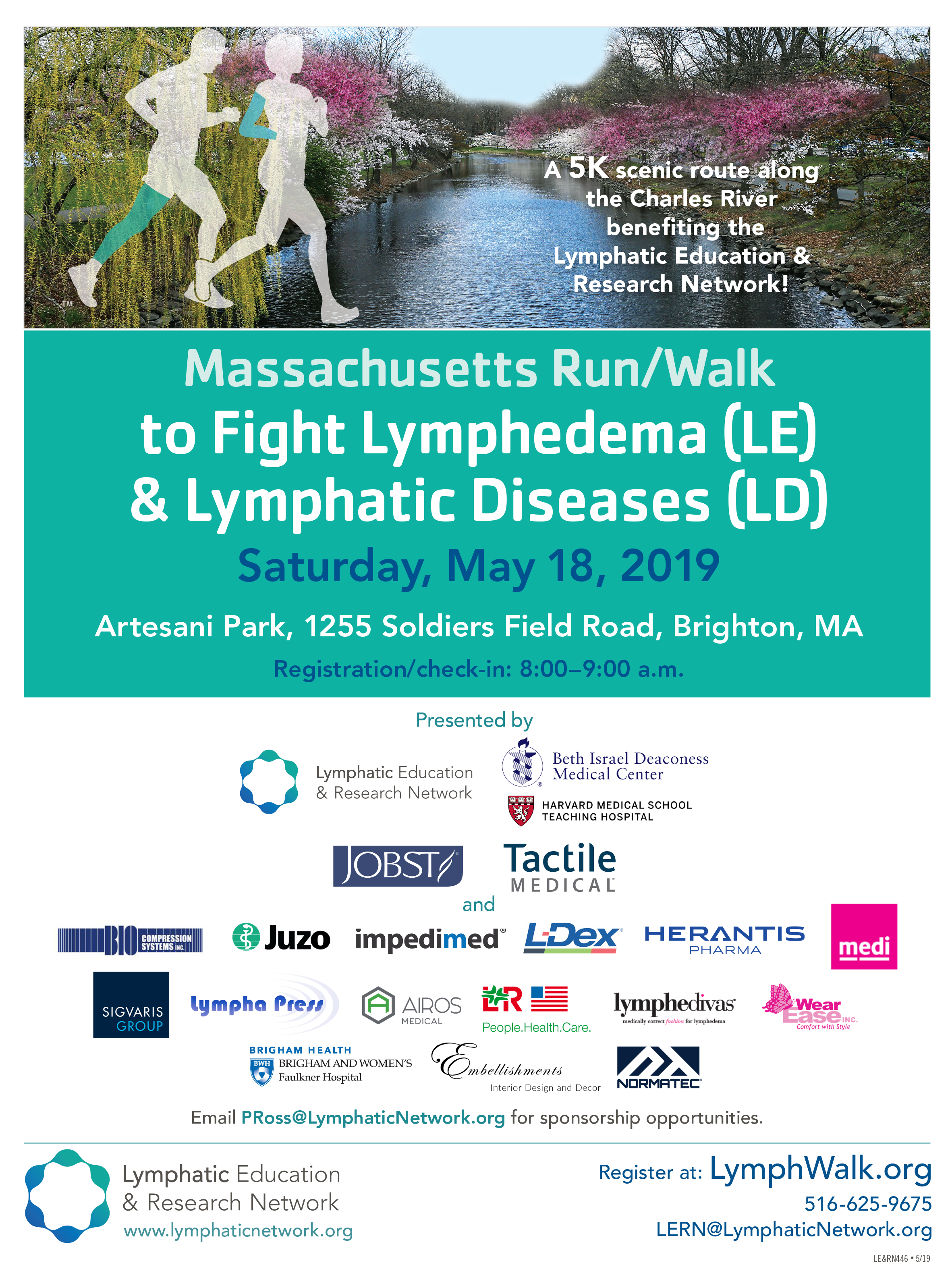 Massachusetts Run/Walk to Fight Lymphedema & Lymphatic
