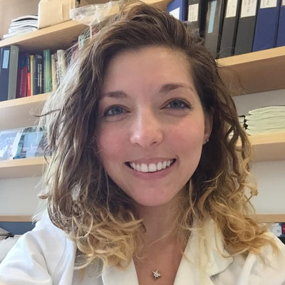 Maria Gnarra, M.D., 2015 Travel Award recipient, studies lymphatic malformations