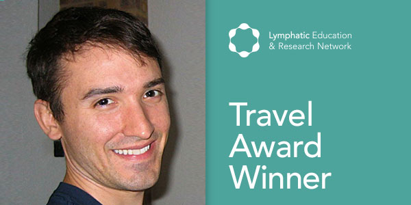 Congratulations Jeremiah Bernier-Latmani, LE&RN Travel Award Winner