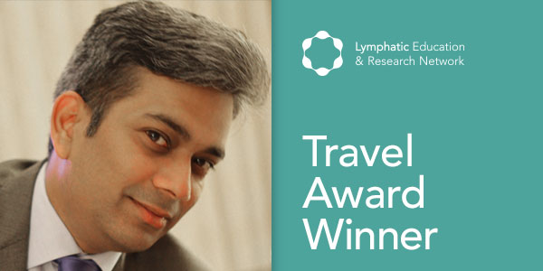 Ajit Muley, Ph.D., 2017 LE&RN Travel Award winner