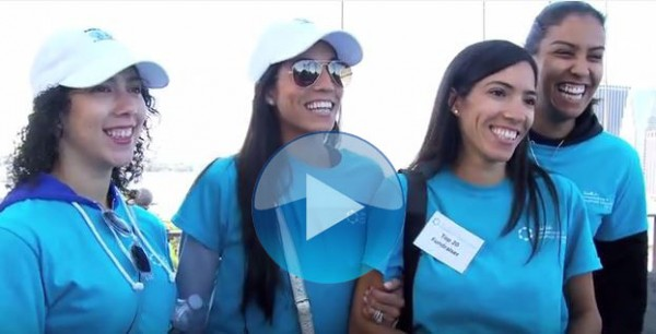 Support the Walk to Fight Lymphedema & Lymphatic Diseases, 9/19/15 Brooklyn Bridge