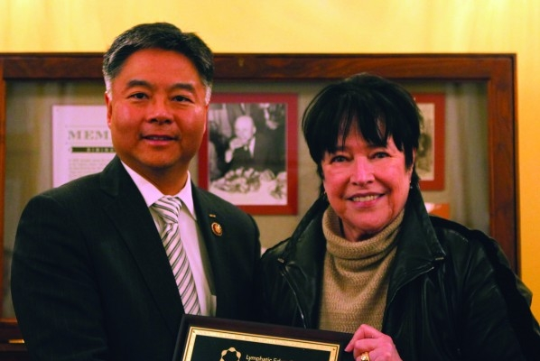 Kathy Bates leads advocacy call with Rep. Ted Lieu (CA)