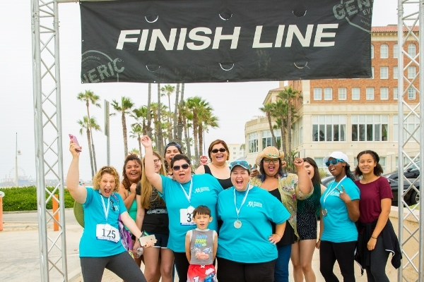 PRESS RELEASE: 2nd annual CA Run/Walk to Fight Lymphedema & Lymphatic Diseases held in Santa Monica