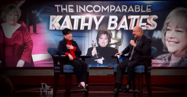 "WATCH: ""The Incomparable Kathy Bates"" on Dr. Phil"